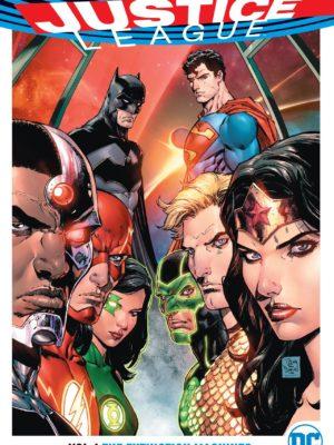 Justice League -Volume 1 - The Extinction Machines